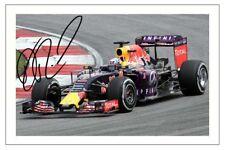 DANIEL RICCIARDO  RED BULL F1 SIGNED 6x4 PHOTO PRINT FORMULA ONE