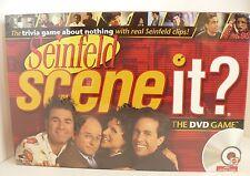 Seinfeld Scene It DVD Trivia Game Mattel Board Game 2008 New in Box. Sealed