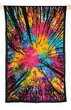 Tagesdecke 205 x 140 cm Picknick Tuch Wandbehang Dekoration Hippie Indien Goa AO