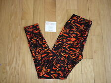 LULAROE ~ One Size LEGGINGS ~ OS ~ Black & Orange ~ NEW ~ Fall ~ Halloween