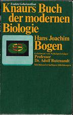 Knaurs Buch der modernen Biologie von Hans Joachim Bogen