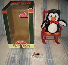Rare 1997 Christmas Coca Cola Rocking Chair Animated Plush Target Exclusive