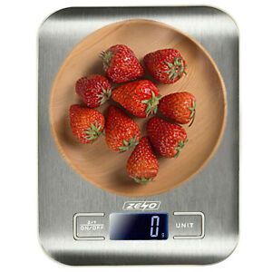 DIGITAL KITCHEN SCALES 5KG ELECTRONIC LCD BALANCE SCALE FOOD WEIGHT POSTAL SCALE
