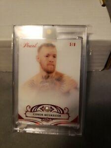 2019 Leaf Pearl UFC Conor McGregor red sp 5/8!!