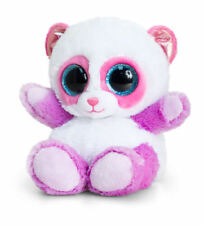 KEEL TOYS ANIMOTSU 15cm PAN THE PINK & LILAC PANDA SOFT TOY  PLUSH NEW WITH TAG