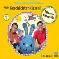 ANNI & CHRISTIAN - MEIN GESCHICHTENKISSEN - DAS KIKANINCHEN-HÖRSPIEL  CD NEU