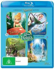 Tinker Bell - Collection (Blu-ray, 2012, 4-Disc Set)