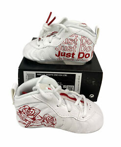 NEW Nike Lil' Posite One Foamposite Takeout Bag Infant Baby Shoes Sz 4c CW0981
