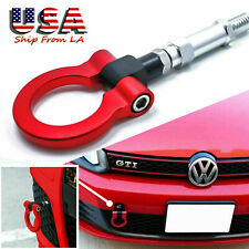 Red Track Racing Aluminum Front Tow Hook For Volkswagen Jetta MK6 6th Gen 11-18