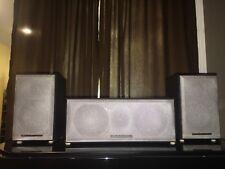 Mordaunt Short 3Y (Brand New 5 Black/Silver Speakers Kit)