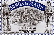 Armies in Plastic French & Indian War 1754-1763 Gorham's Rangers 1/32 Scale 54mm