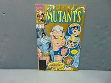 New Mutants 87. 2nd Print. 1st Full Appearance Cable; VF+/NM, Ungraded (No CGC)