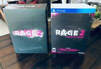 Rage 2 PS4 Collector's Limited Edition BOX ONLY (NO GAME!) Bethesda id Software