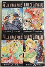 ESZ1065. MANGA Record of a Fallen Vampire Volumes 1-3, 5 Graphic Novels (2008)_