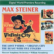 The Lost Patrol / Virginia City / The Beast with Five Fingers, New Music
