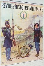 REVUE D'HISTOIRE MILITAIRE 1942 N°13 HISTOIRE DES GROUPES DE CHASSEURS A PIED