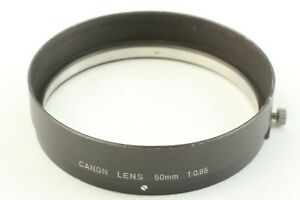🔸N MINT🔸 Canon 50mm f0.95 Genuine Hood for Dream Lens from Japan ✈Free Ship✈