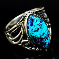 Shattuckite 925 Sterling Silver Ring Size 5.5 Ana Co Jewelry R15754F