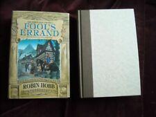 Robin Hobb - FOOL'S ERRAND - FIRST EDITION