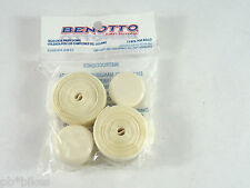 Benotto White Handlebar Tape Cello Bar Textured Vintage Bicycle Original New