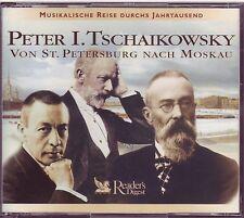 TSCHAIKOWSKY - Von St. Petersburg nach Moskau  -  Reader's Digest  3 CD Box