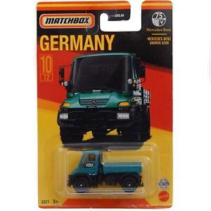 Mercedes-Benz Unimog U300 Green Matchbox Stars of Germany MB728 GWL49 2021 #10