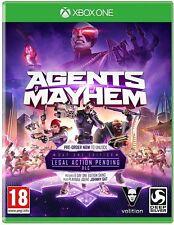 Agents of Mayhem: 首日版 (xbox One) 全新原厂封装