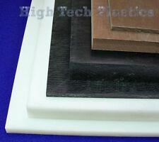 "3.5"" x 6"" x 36.5"" Black Color Acetal Sheet Delrin Plastic Panel"