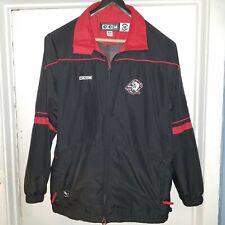 Buffalo Sabres NHL CCM Polyester Full Zip Windbreaker Jacket Size M NWOT