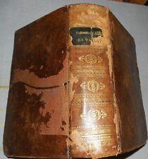 NOUVEAU VOCABULAIRE FRANçAIS DICTIONNAIRE DE L'ACADEMIE DE WAILLY 1824