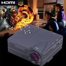 3800LM LED LCD Projector Home Cinema Theater HD 1080P HDMI/USB/VGA/AV Multimedia