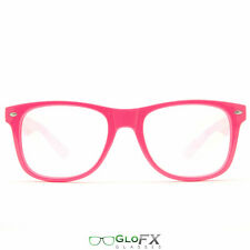 GloFX Ultimate Diffraction Glasses - Pink Sexy Ladies Eye Wear Rave EDM Stompy