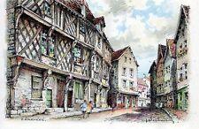 28 Chartres - La Maison du Saumon - illustrateur A. Desbarres