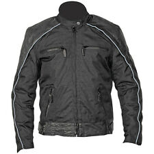 NexGen Women's Textile/Leather Black Motorcycle Jacket size XLarge