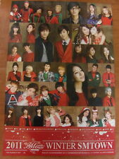 2011 SMTOWN Winter: The Warmest Gift [OFFICIAL] POSTER SNSD SUPER JUNIOR SHINee