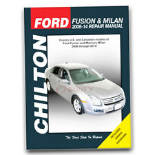 Chilton Repair Manual for 2006-2014 Ford Fusion - Shop Service Garage Book gz
