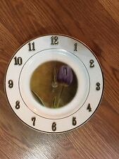 Purple Tulip Exclusive Photo Creation Clock by Nicholas Tesluk !