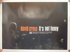 David Cross Poster Promo It's Not Funny Live Mint 17x24 Arrested Development