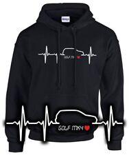 SWEATSHIRT love Golf MK 4 Herzschlag Puls Tuning Gti Treffen Schrauber FUN