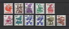 1971 Allemagne Berlin prévention routière & accident 11 timbres oblitérés/T2220