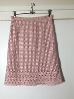 Collette By Collette Dinnigan BRAND NEW WITH TAGS Rose Pink Skirt M RRP$229
