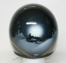 Vintage Njl Abaddon Helmet Model 1000 Sept 1983 Airbrushed Snowmobile Visor