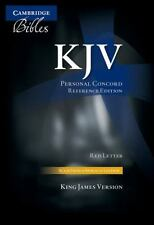 Kjv Personal Concord Reference Edition Kj463:Xri Black French Morocco Leather...