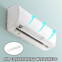 Air Conditioner Windshield Cold Wind Deflector Retractable Baffle for Home