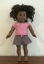 American Girl African American Curly Hair Just Like You Doll 18 Inches Tall 2012