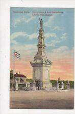 Matanzas Cuba Monumento a los Libertadores Vintage Postcard 842a