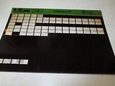 Kawasaki KZ550 - M1: LTD Parts List Micro Fiche