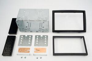 Bastidor y soporte Renault Megane 2 2DIN doble din metálico 102x182 faja kit