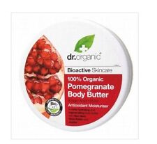 1 x 200ml Dr Organic Pomegranate Body Butter Bioactive Antioxidant Moisturiser