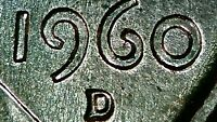1960-D MEMORIAL CENT PENNY REAL STRONG DDO DDR! EXTRA NICE RPM! BU UNC MS+ COIN!